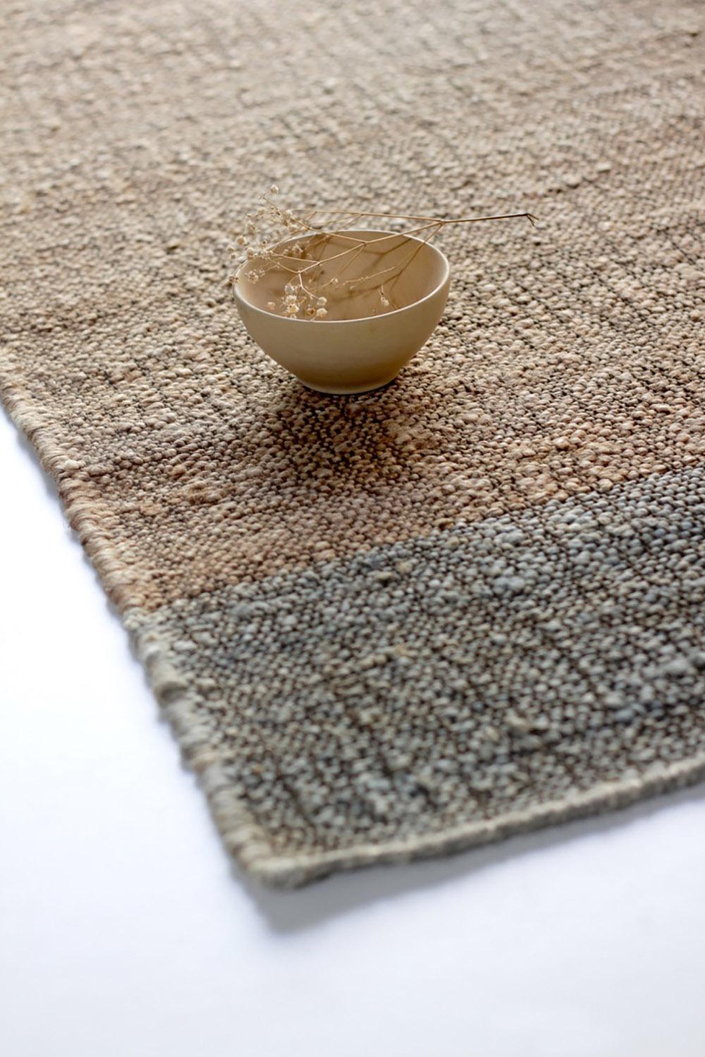 alfombras cumellas de materiales naturales en matèria